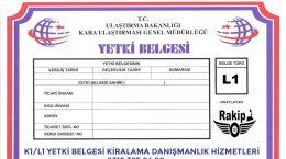 K1 BELGESİNE ZAM GELDİ